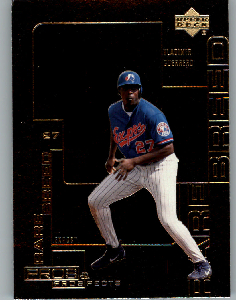 2000 Upper Deck Pros and Prospects Rare Breed #R9 Vladimir Guerrero