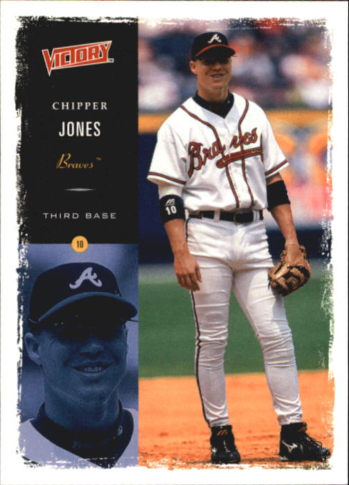 2000 Upper Deck Victory #48 Chipper Jones