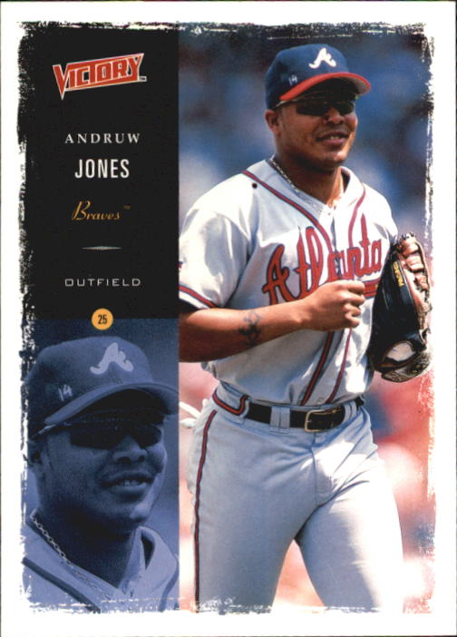 2000 Upper Deck Victory #50 Andruw Jones