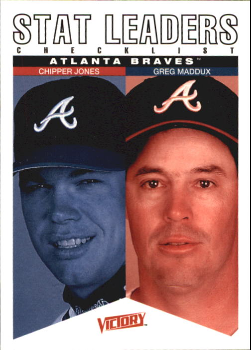 2000 Upper Deck Victory #59 C.Jones/G.Maddux CL