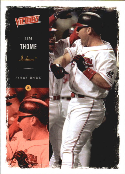 2000 Upper Deck Victory #157 Jim Thome