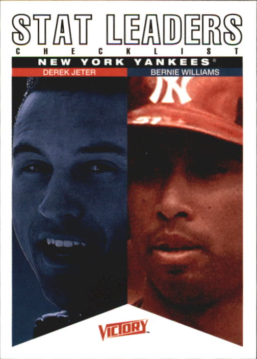 2000 Upper Deck Victory #330 D.Jeter/B.Williams CL
