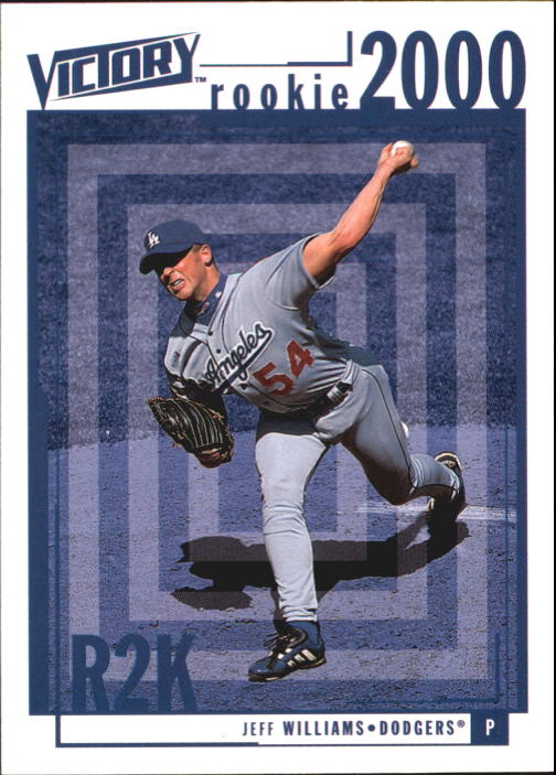 2000 Upper Deck Victory #360 Jeff Williams RC