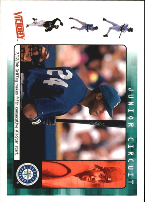 2000 Upper Deck Victory #416 Ken Griffey Jr. JC