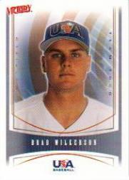 2000 Upper Deck Victory #451 Brad Wilkerson USA RC