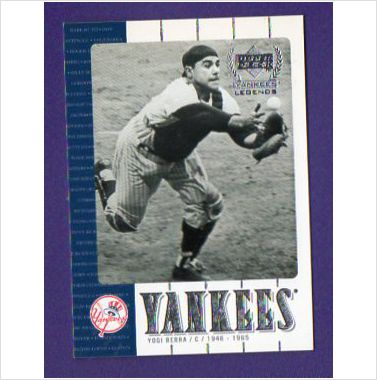 2000 Upper Deck Yankees Legends #5 Yogi Berra