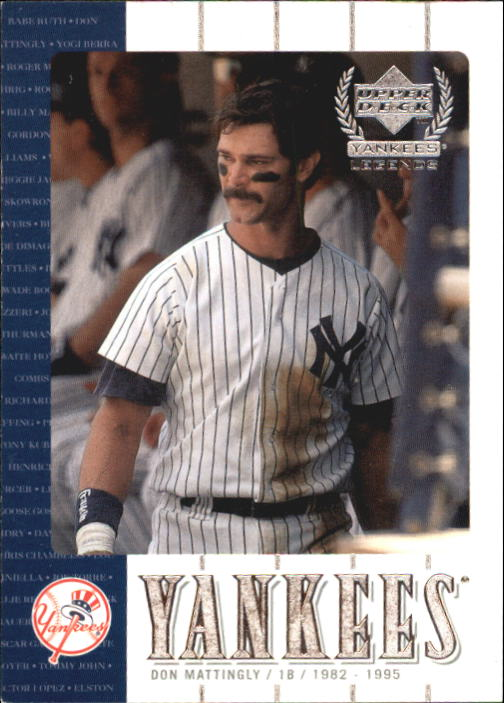 2000 Upper Deck Yankees Legends #6 Don Mattingly