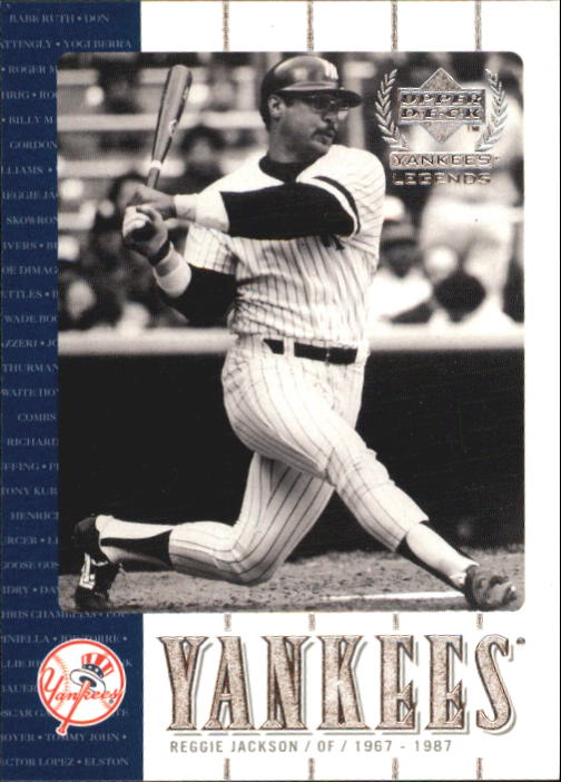 2000 Upper Deck Yankees Legends #7 Reggie Jackson