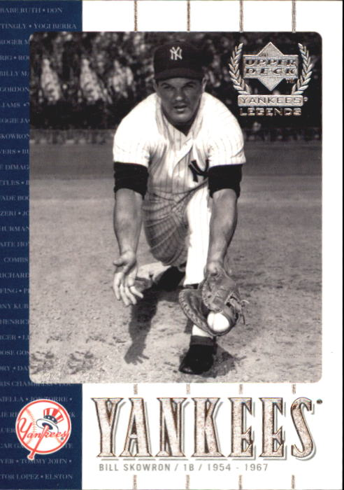2000 Upper Deck Yankees Legends #9 Bill Skowron