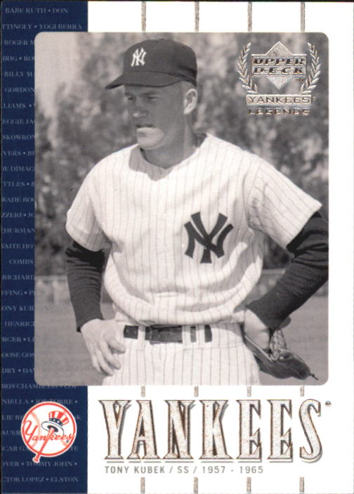 2000 Upper Deck Yankees Legends #12 Tony Kubek