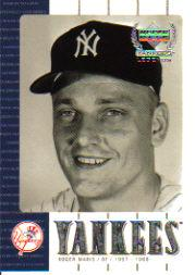 2000 Upper Deck Yankees Legends #14 Roger Maris