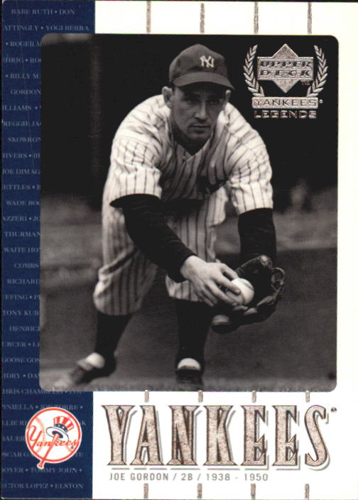 2000 Upper Deck Yankees Legends #22 Joe Gordon