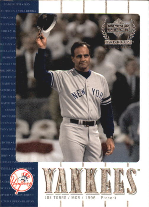 2000 Upper Deck Yankees Legends #24 Joe Torre