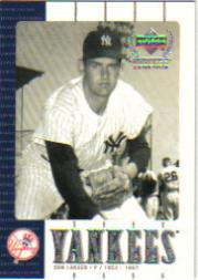 2000 Upper Deck Yankees Legends #26 Don Larsen