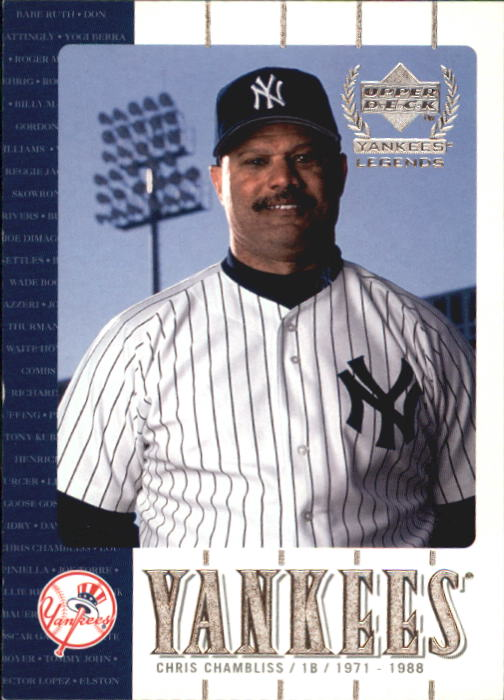 2000 Upper Deck Yankees Legends #34 Chris Chambliss