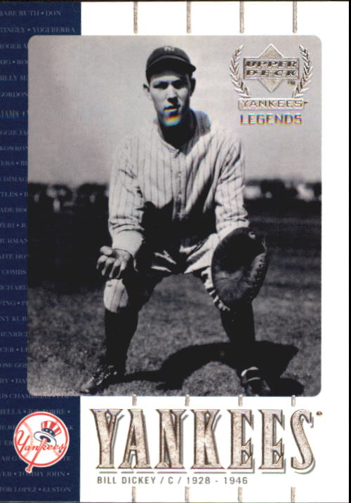 2000 Upper Deck Yankees Legends #45 Bill Dickey