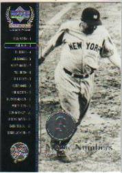 2000 Upper Deck Yankees Legends #52 Babe Ruth MN