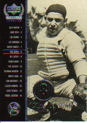 2000 Upper Deck Yankees Legends #56 Yogi Berra MN