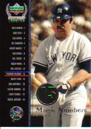 2000 Upper Deck Yankees Legends #60 Thurman Munson MN