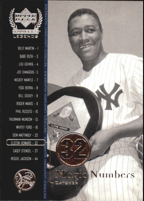 2000 Upper Deck Yankees Legends #63 Elston Howard MN