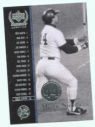 2000 Upper Deck Yankees Legends #65 Reggie Jackson MN