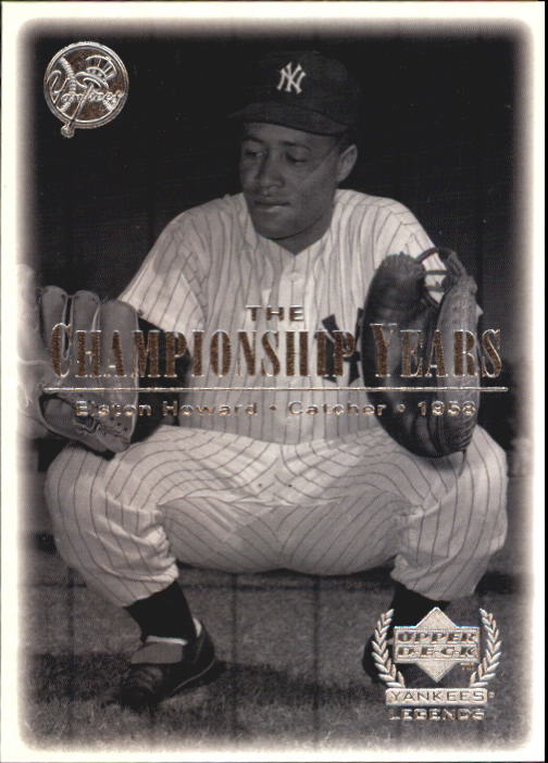 2000 Upper Deck Yankees Legends #83 Elston Howard '58 TCY