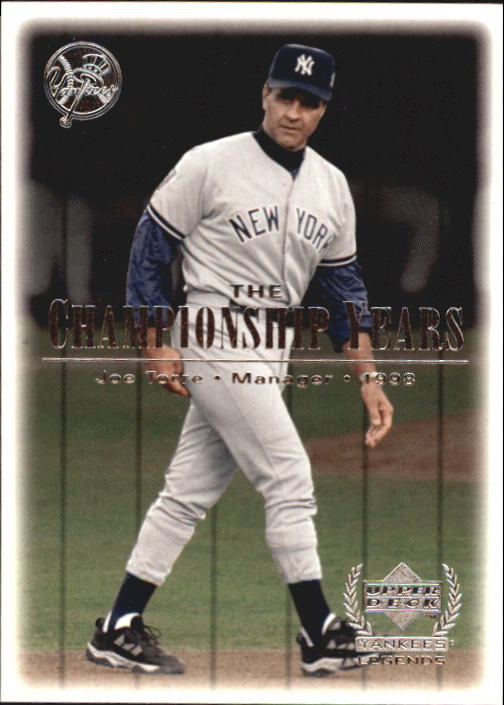 2000 Upper Deck Yankees Legends #89 Joe Torre '98 TCY