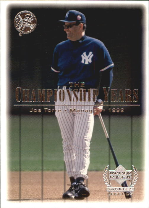 2000 Upper Deck Yankees Legends #90 Joe Torre '99 TCY