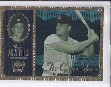 2000 Upper Deck Yankees Legends Golden Years #GY6 Roger Maris