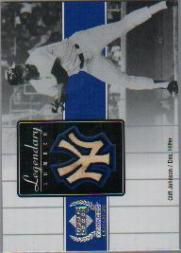 2000 Upper Deck Yankees Legends Legendary Lumber #CJLL Cliff Johnson