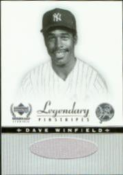 2000 Upper Deck Yankees Legends Legendary Lumber #DWLL Dave Winfield