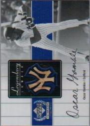 2000 Upper Deck Yankees Legends Legendary Lumber #OGLL Oscar Gamble