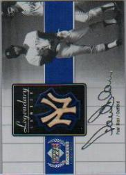 2000 Upper Deck Yankees Legends Legendary Lumber #PBLL Paul Blair