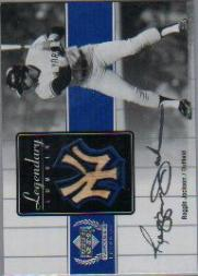 2000 Upper Deck Yankees Legends Legendary Lumber #RJLL Reggie Jackson