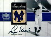 2000 Upper Deck Yankees Legends Legendary Lumber #RMLL Roger Maris