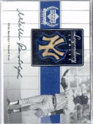2000 Upper Deck Yankees Legends Legendary Lumber #WRLL Willie Randolph