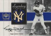 2000 Upper Deck Yankees Legends Legendary Lumber Gold #RJLL Reggie Jackson