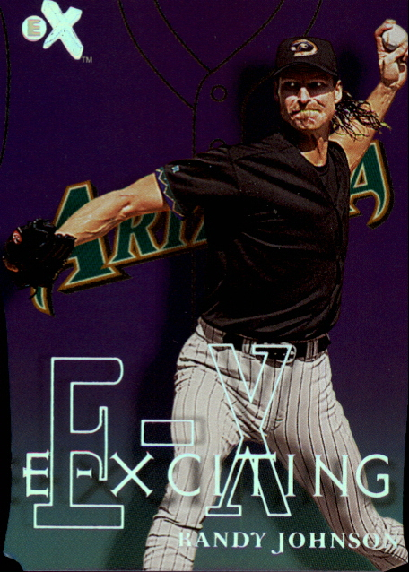 2000 E-X E-Xciting #XT3 Randy Johnson