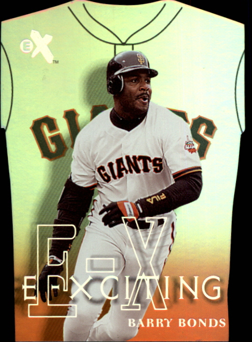 2000 E-X E-Xciting #XT10 Barry Bonds
