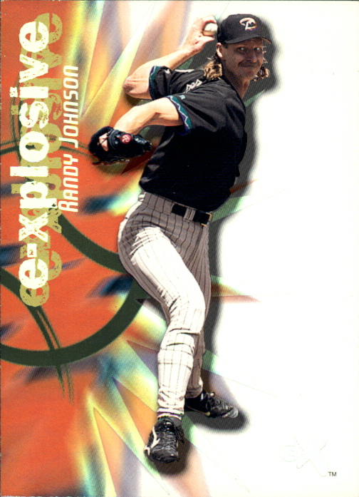 2000 E-X E-Xplosive #XP12 Randy Johnson