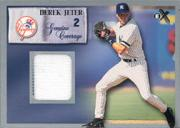 2000 E-X Genuine Coverage #2 Derek Jeter