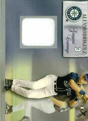 2000 E-X Genuine Coverage #3 Alex Rodriguez
