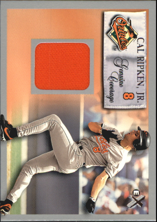 2000 E-X Genuine Coverage #8 Cal Ripken