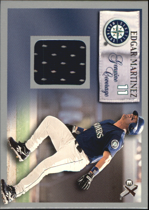 2000 E-X Genuine Coverage #11 Edgar Martinez