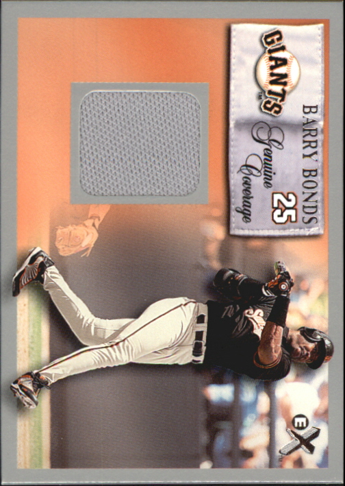 2000 E-X Genuine Coverage #25 Barry Bonds