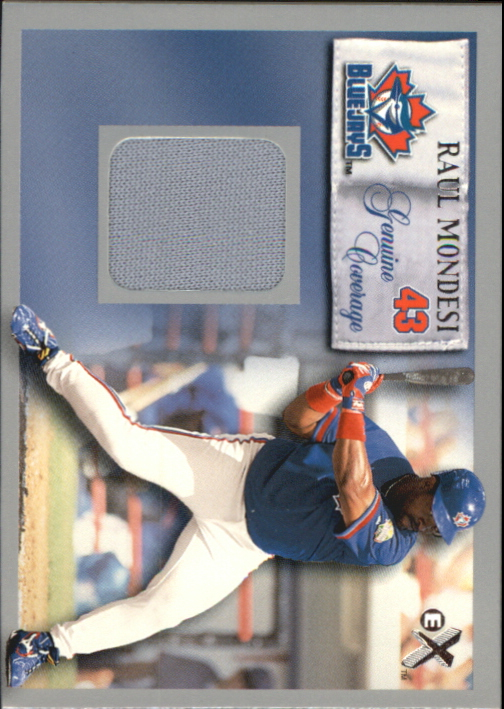 2000 E-X Genuine Coverage #43 Raul Mondesi