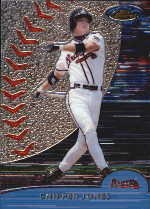 2000 Finest #2 Chipper Jones