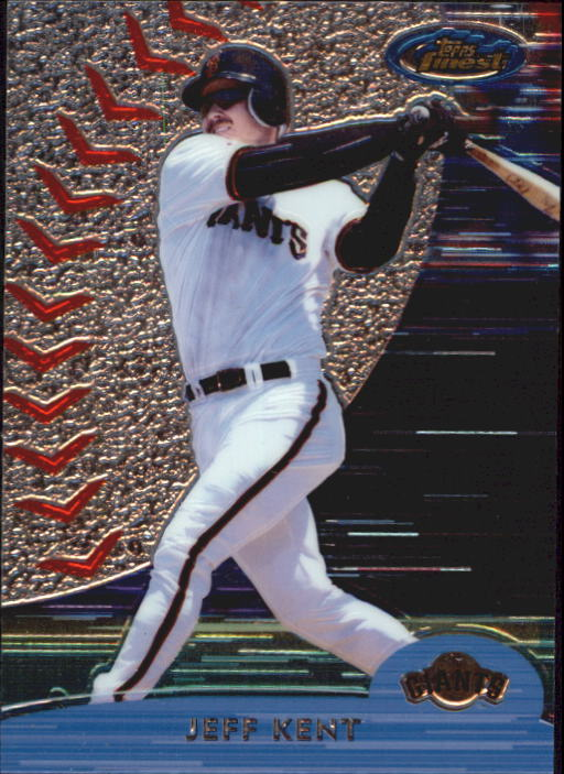 2000 Finest #38 Jeff Kent