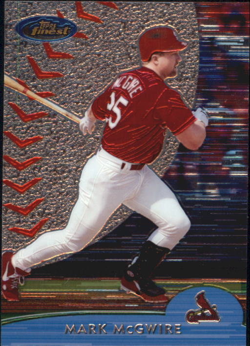 2000 Finest #65 Mark McGwire