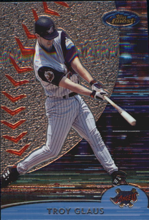 2000 Finest #197 Troy Glaus